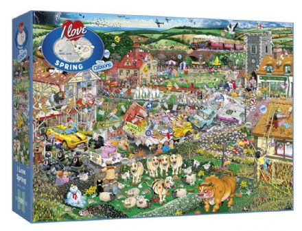 I Love Spring by Mike Jupp 1000 Piece Gibsons Jigsaw